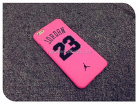 cheap pink air jordan 23 phone case for iphone 5/5S/6/6 plus