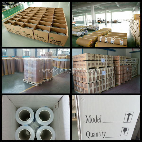 PE Material and Protective Film Type ldpe film