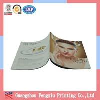 High Quality Full Color Magazine Design Printing Glue Binding Magazine Wholesale