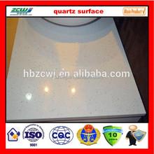 Super White Sparkle Quartz Stone Countertop