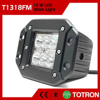 TOTRON High Quality Dust Proof Led Driving Lights For Motorbike