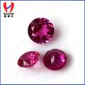 alto quatity sintético corte redondo de piedras preciosas ruby