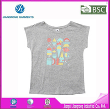 New arrival 100 cotton breathable baby clothing short sleeve printing t shirt