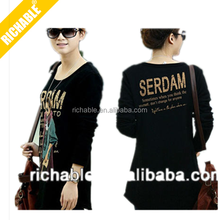 super fashion sexy girl loose slim soft top quality ladies 3d t shirts print design