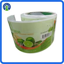 Custom Print label Adhesive Label Sticker Printing,Private Product Brand Logo Roll Self Adhesive Printed Label