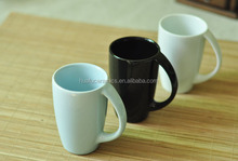 High Quality Popular solid color Ceramic Coffee Mug with handle 8oz for Wholesale