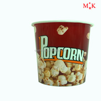 85 oz recycling use plastic container, popcorn container can microwave