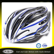 Cheap CE safety in mold PC shell road street helmet bike