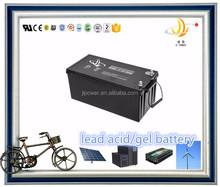 UPS GEL battery 12v 190ah lead acid solar battery 12v 200ah back up storage battery