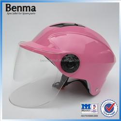 female beautiful scooter half helmet