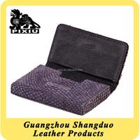 Trade Assurance Supplier High Quallity Leather Name Card Holder Set