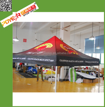 Set up artwork custom collapsible tent