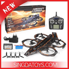 New Arriving!New Arriving!Wltoys Q202 2.4G 4CH 6 Axis RC Aircraft Carrier 3 in 1 Mode With LED RTF