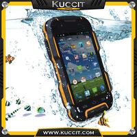dropshipping unlocked smartphone 3G Quad Core rugged Android IP67 smart mobile Phone Waterproof Dual Sim 1gb ram 8gb rom GPS