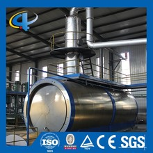 Low Investment Used Tyre Pyrolysis Oil Distillation Machine To Base Oil