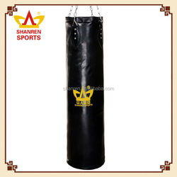 China wholesale leather PU boxing punching bags for training