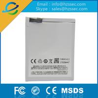 Cheapest li ion dual ic battery 4000mah battery mobile phones For Meizu