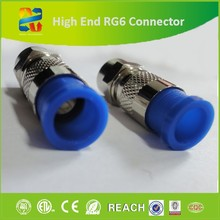 Hangzhou Xingfa Hot Sale Nickel-Plated Brass RG6 Conector Compression F