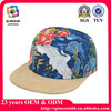 Wholesale design your own 5 panel hat in 100% cotton
