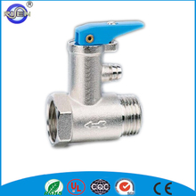 Water heater pressure control safety valve