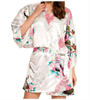 Pure white high quality terrycloth bathrobes for women