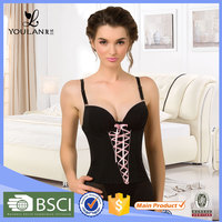 Top Selling Perspective Gauze Polyester Comfortable Plus Size Waist Training Corset