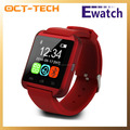 Bluetooth barato reloj teléfono inteligente, reloj teléfono Nueva U8 en checo