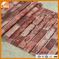 3D brick wallpaper/pro-environment/wallpaper for bedroom
