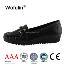 ladies shoes wholesale ladies fancy shoes leather shoes made in China