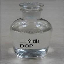 DOP plasticized PVC for making paints, dispersing agents