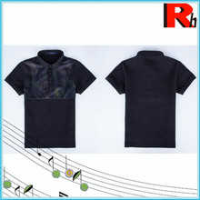 Nice and cheapest kids polo t-shirt wholesale brand new fashion custom print t-shirt