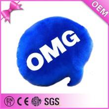Promotional custom throw pillow, plush pillow, plush whatsapp emoji pillows