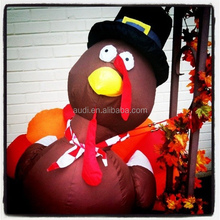 Thanksgiving inflatable decoration turkey for advertising