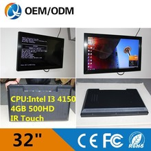 "New arrival home /hotle/ office 32"" All In One Tv Pc Computer /industrial All In One Pc,Tablet Pc / touchscreen monitor"