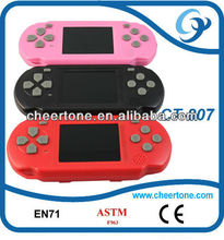 "2.5"" multicolor TFT LCD brick game console,with TF CARD,handheld game player"