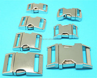 High quality curved buckle,quick adjustable buckle,2 inch metal buckle