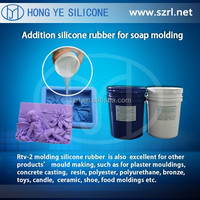 two part density liquid silicon rubber for mold making