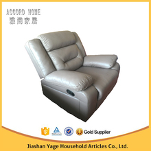 9067 popular design trade assurance leather recliner single sofa