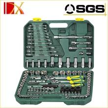 "120 PCS 1/4"" & 3/8"" & 1/2"" DR. Socket Wrench Set"