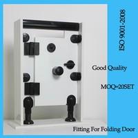 PP/PA Folding door black toilet cubicle accessories metpar toilet partitions