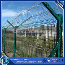 2015 New products cheap fence panels,PVC coated metal fence panels,steel wire mesh fence made in china