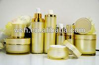 round acrylic skincare lotion