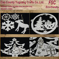 Santa Claus craft,father christmas,snow and tree craft