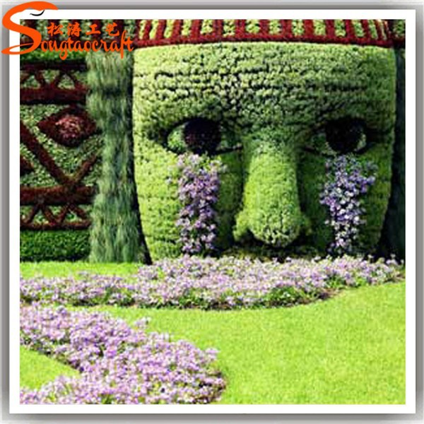 Wholesale cheap price artificial topiary plant outdoor for Cheap bushes for landscaping