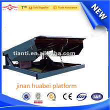 large capacity China CE ISO container load ramp truck loading ramp