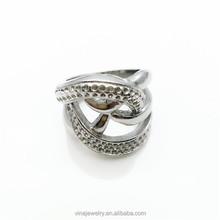 HOT sale in Indonesia Custom prong setting gemstone rings for men