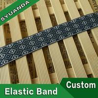 Woven nylon elastic webbing belt