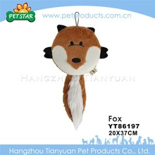 Newest design top quality dog shaped pet toy