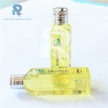 Latest design silver cap high quality mini hotel shampoo
