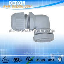 Wholesale China Cheap Waterproof Nylon Right Angle Cable Gland